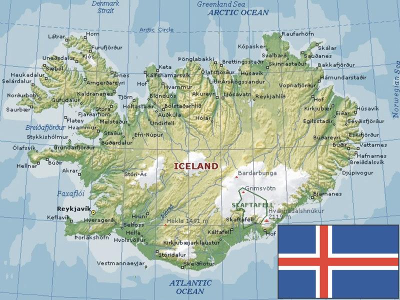 IcelandMap